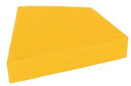 Quadro 2 matras  geel, hoogte 15 cm