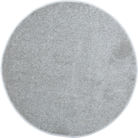Rond tapijt - diam. 100 cm - grijs