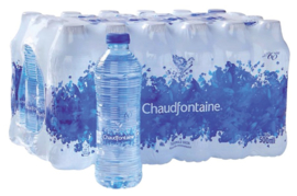 48x Water Chaudfontaine blauw petfles 0.50l