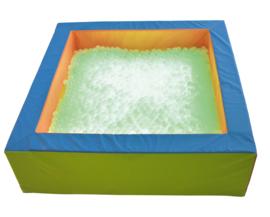 Ballenbad met achtergrondverlichting 200x200cm - Groen