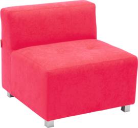 Flexi bank, zithoogte 35 cm,  rood
