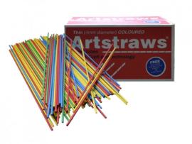 Artstraws gekleurd