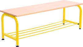 Garderobebank - geel