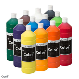 Creall-color schoolverf 1000cc  12x assortiment