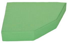Quadro 2 matras  groen, hoogte 15 cm