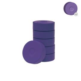 Colorall verfblokken Ø 5,5 cm 6 dlg - Violet