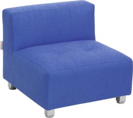 Flexi bank, zithoogte 25 cm,  blauw