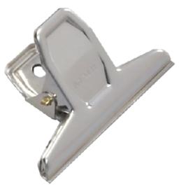 Papierklem MAUL Pro 75mm capaciteit 20mm blister à 2 stuks