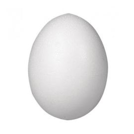 Tempex eieren 25 stuks 60mm - Wit