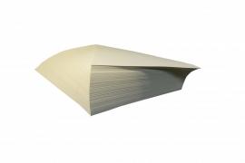 Verfpapier wit