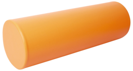 Foam cilinder smal 90 cm. - oranje
