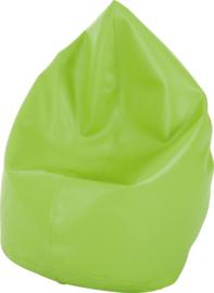 Mini zitzak poef - groen