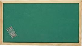 Prikbord 100 x 200 cm - groen
