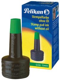 Stempelinkt Pelikan flacon 28ml groen