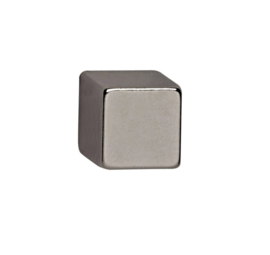 4x Magneet MAUL Neodymium kubus 10x10x10mm 3.8kg nikkel
