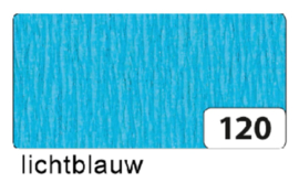 Crepepapier  250x50cm nr120 lichtblauw