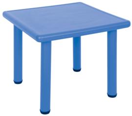 Dumi vierkante tafel - blauw