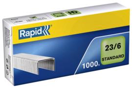 Nieten Rapid 23/6 gegalvaniseerd standaard 1000stuks