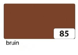 Engels karton  2 zijdig 50x70cm 300gr nr85 bruin