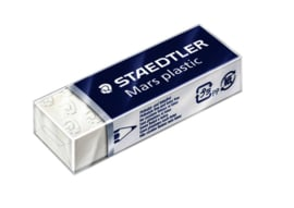 Gum Staedtler Mars 52650 65x23x10mm potlood wit