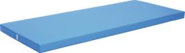 Platte mat 200x85cm - blauw