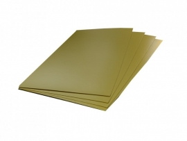 Etalagekarton goud
