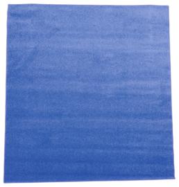 Tapijt 200x200cm - Blauw