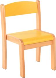 Maxime stoel,  geel maat 1-4
