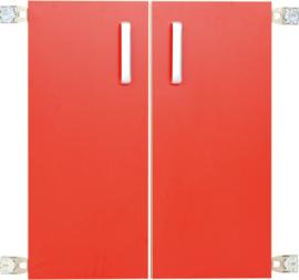 Deur voor niveau verhoger M (092818) - rood