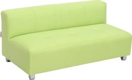Flexi brede bank, zithoogte 25 cm, groen