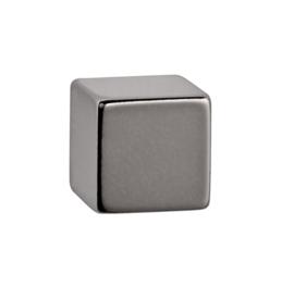 1x Magneet MAUL Neodymium kubus 15x15x15mm 15kg nikkel