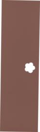 Deur voor garderobe Mariposa - bruin