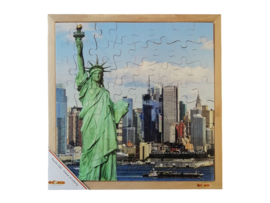 Puzzel USA vrijheidsbeeld