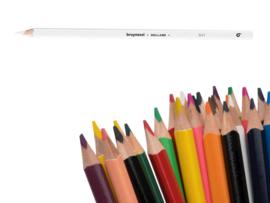 12 kleurpotloden Bruynzeel wit 901