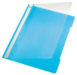 10x Snelhechter Leitz 4191 A4 PVC lichtblauw