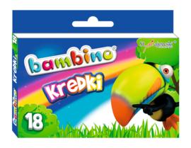Crayons Bambino - 18 stuks