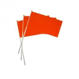 50x  handvlaggetjes oranje
