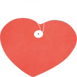 Papieren slinger - hart