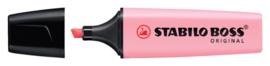 Markeerstift STABILO Boss Original 70/129 pastel roze