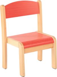 Maxime stoel,  rood maat 1-4