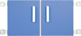 Deur voor niveau verhoger S (092817) - blauw