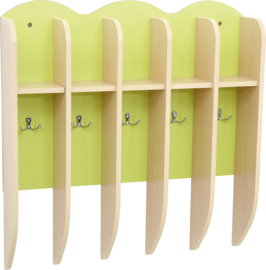 Plank voor bekers - lichtgroen