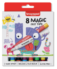 Viltstift Bruynzeel Kids Magic Points  - 5+