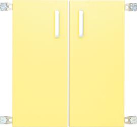 Deur voor niveau verhoger M (092818) - geel