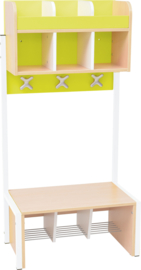 School garderobe Butterfly 3 - lime