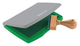 Stempelkussen Pelikan 2E 110x70mm groen