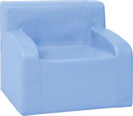 Fauteuil  Afm. 49 x 39 x 45 cm  - Blauw