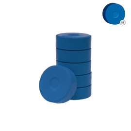 Colorall verfblokken Ø 5,5 cm 6 dlg - Donkerblauw