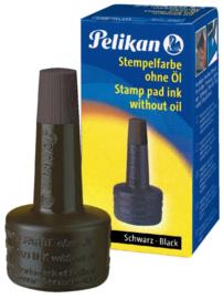 Stempelinkt Pelikan flacon 28ml zwart