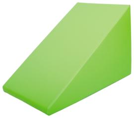Foam glijbaan groot 90x60x60cm  - Groen